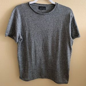ZARA Grey Basic Tee
